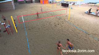 Волейбол на пляже 117 в Феодосии - feodosia.2crim.com