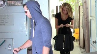 Miley Gets Razor Haircut, Goes To Pilates With Fiance Liam Hemsworth [2012]