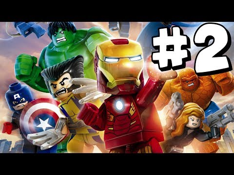 LEGO Marvel Superheroes - Part 2 - Xbox One HD Gameplay Walkthrough