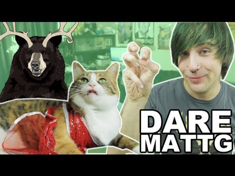 Dare MattG - 43 ( Crinkle Hand, Honey Boo Boo Cat, Screamo, Banana Hat) - Dare MattG - 43 ( Crinkle Hand, Honey Boo Boo Cat, Screamo, Banana Hat)