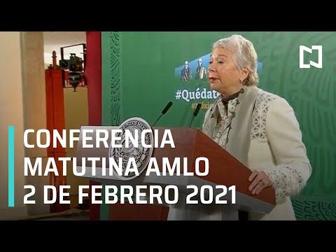 Conferencia matutina AMLO / 2 de Febrero 2021