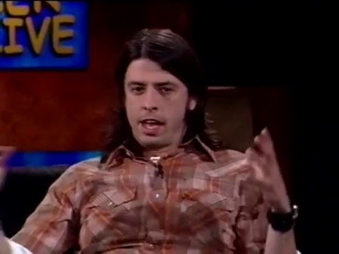 Dave Grohl - Interview (Dennis Miller Live 2001)