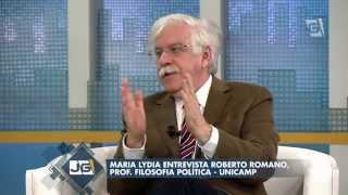Jornal da Gazeta - Maria Lydia entrevista Roberto Romano, prof. Filosofia Política (15/05/14)