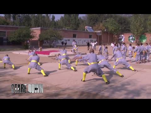 Shaolin Kung Fu Demo at Dengfeng School.mov