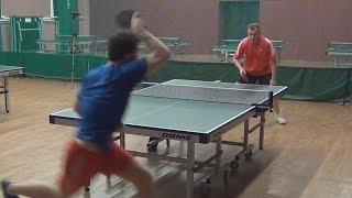 Сергей ХОМУТОВ - Дмитрий ОСИПОВ Настольный теннис, Table Tennis