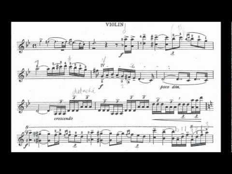 Bloch, Ernest   Baal Shem for violin + orchestra