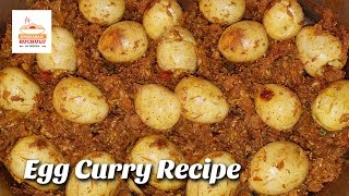 Egg Masala Curry | Simple Egg Curry Recipe | Egg Curry | How to make easy egg  recipes| indian curry