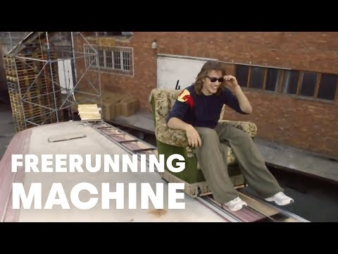 Jason Paul's Human-Powered Freerunning Machine