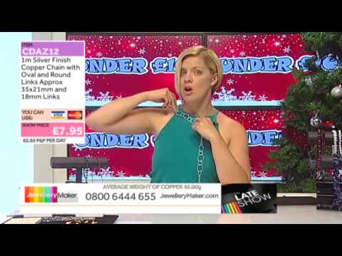 Christmas In July on The Late Show (JewelleryMaker) LIVE 25/07/2015