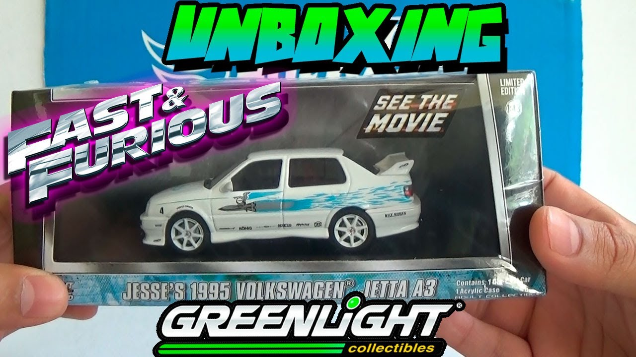 unboxing volkswagen jetta   fast furious rapido  furioso greenlight youtube
