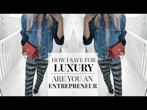 CHATTY HOW I SAVE FOR LUXURY ITEMS | ARE YOU AN ENTREPRENEUR? | IAM CHOUQUETTE