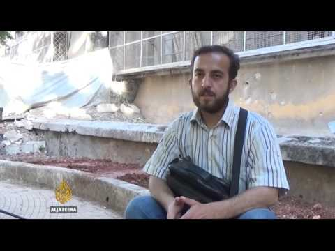 An Aleppo aid worker's daily struggle survival story