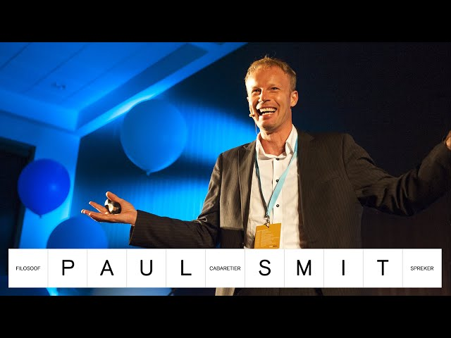 Paul Smit - Filosoof & Cabaretier