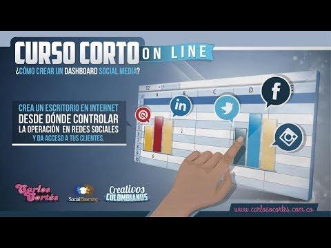 Dashboard Social Media v 5.0 para monitoreo de redes sociales
