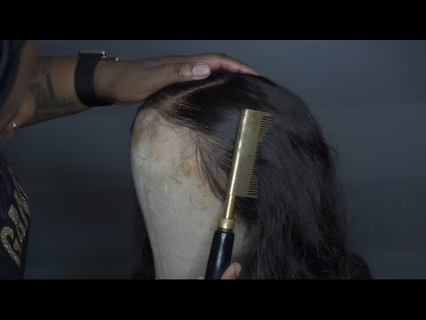 HOW TO CLEAN YOUR FRONTAL WIG |WASH| & PREP FOR REINSTALL
