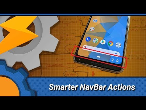 TASKER: Smarter NavBar Actions