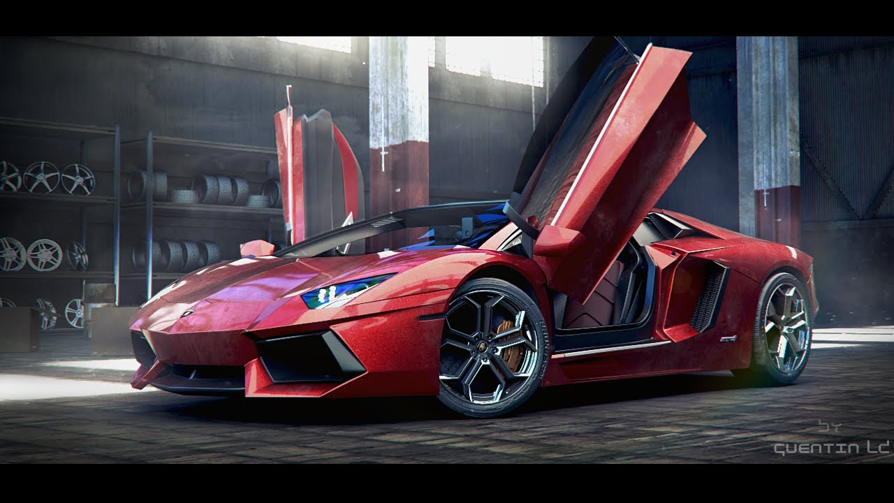 Lamborghini Aventador Blender 3d Youtube