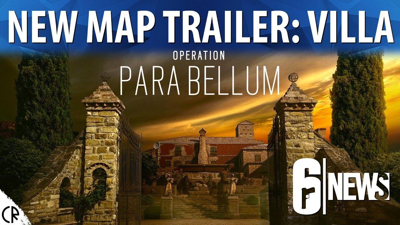 IN-DEPTH New Map Villa - Para Bellum - 6News - Tom Clancy's Rainbow Six  Siege - R6