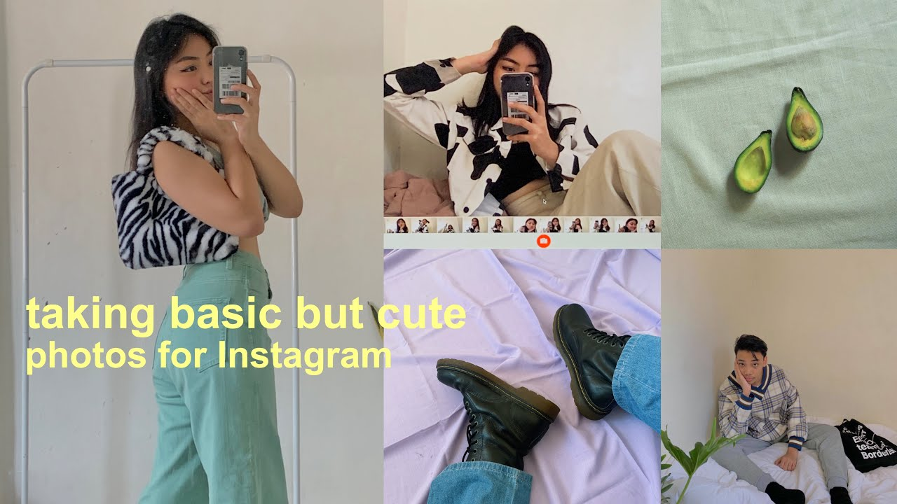 HOW I TAKE MY INSTAGRAM PHOTOS AT HOME ☁️🥑