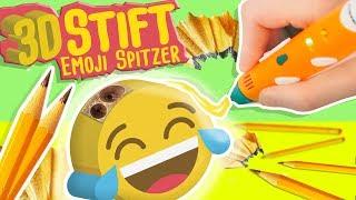 Das man DAMIT SOWAS in 3D machen kann?  - 3D Stift BackToSchool Deutsch Emoji Spitzer