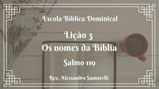 Os nomes da Bíblia