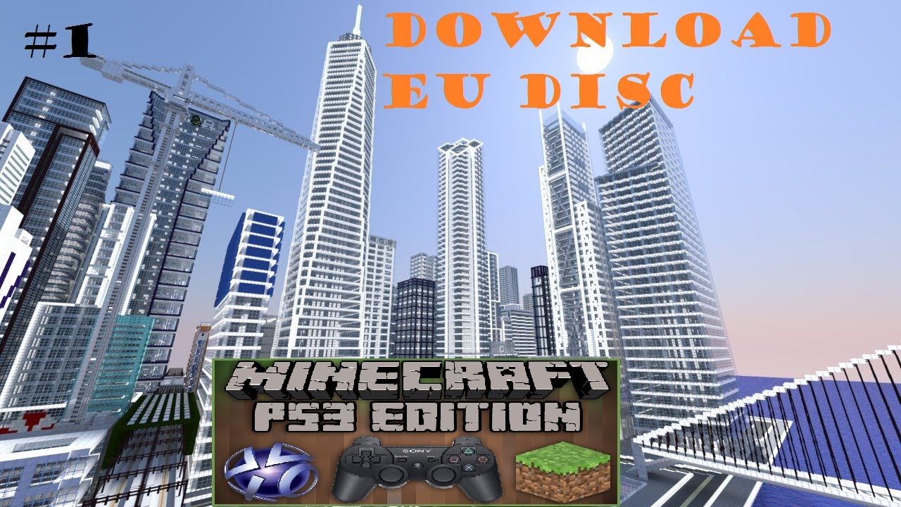 Patche 1 Presentation De Map Minecraft Ps3 Download Youtube