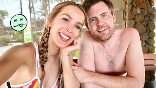 IT GOT REALLY REALLY MESSY | HAWAII HONEYMOON VLOG 2
