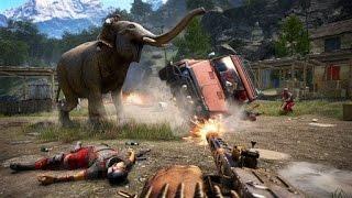 Far Cry 4, arma sierra circular, tremenda!!