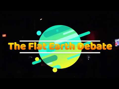 San Diego Flat Earth Debate #3 Live On Stage (Video)