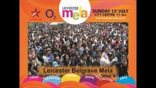 Leicester Mela 2012 - Sunday 15th July in Leicester City Centre - Star Plus & O2
