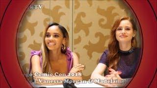 SDCC 2018   Riverdale   Vanessa Morgan & Madelaine Petsch