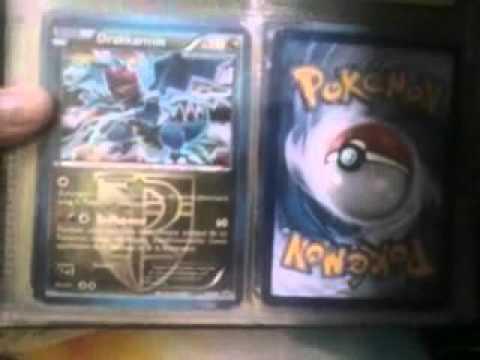 Presantation de mon deck et ma collec pokemon !