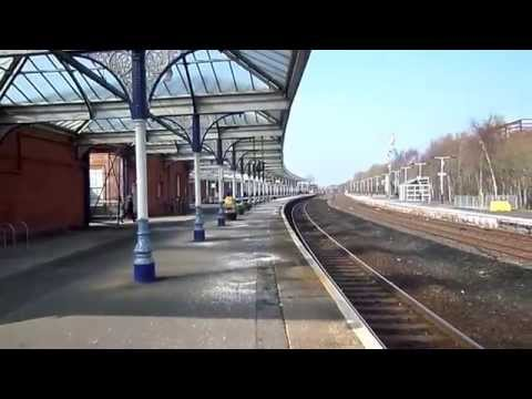 Kilmarnock Railway Station - Track layout, Signalling and Buildings
