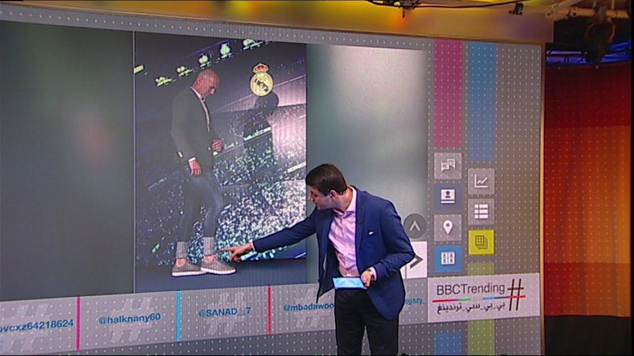 بي_بي_سي_ترندينغ: جينز زين الدين زيدان يثير ضجة بعد عودته إلى #ريال_مدريد