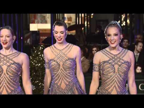 Radio City Rockettes at Rockefeller Center 2010