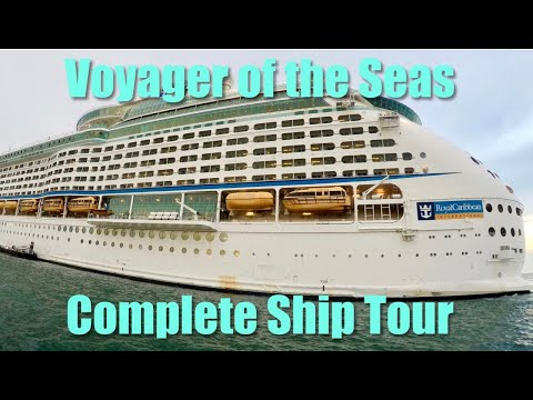 Royal Caribbean Voyager of the Seas Complete Ship Tour 2017  皇家加勒比旅行者海洋2017年完整船巡回赛