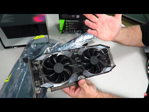 Unboxing the EVGA GeForce RTX 2080 XC ULTRA Graphics Card