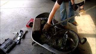 Blade replacement on John Deere L120 and updates