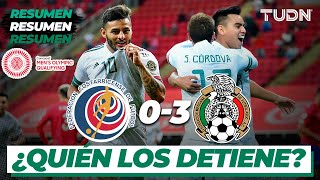 Resumen y goles   Costa Rica 0-3 México   Preolímpico Tokyo 2020   TUDN