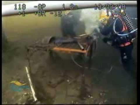 Underwater Construction - Commercial Divers in Training