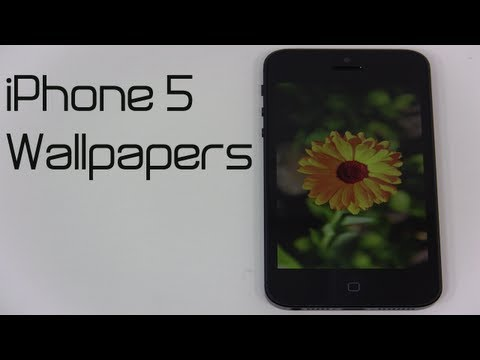 How to get iPhone 5 Wallpapers!