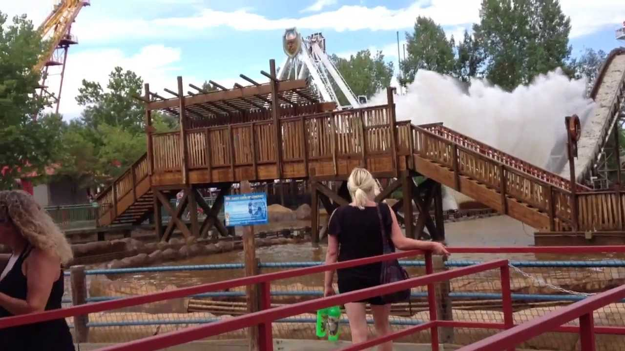 Elitches water ride! - YouTube