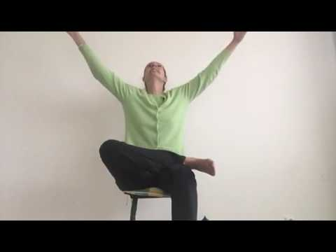 chair yoga warmup and seated poses  youtube
