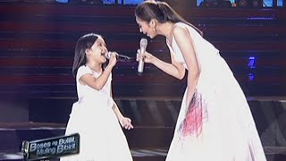 Sarah Geronimo sings her movie theme songs with Elha, Krystle & Esang
