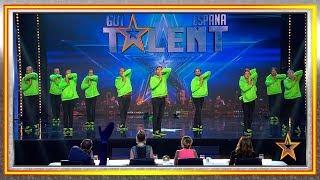Estos padres prueban que no hace falta ir al gym para bailar | Audiciones 2 | Got Talent España 2019