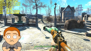 Fallout 4 Pc 4K High Resolution Texture Pack Titan X Pascal Frame Rate Performance Test