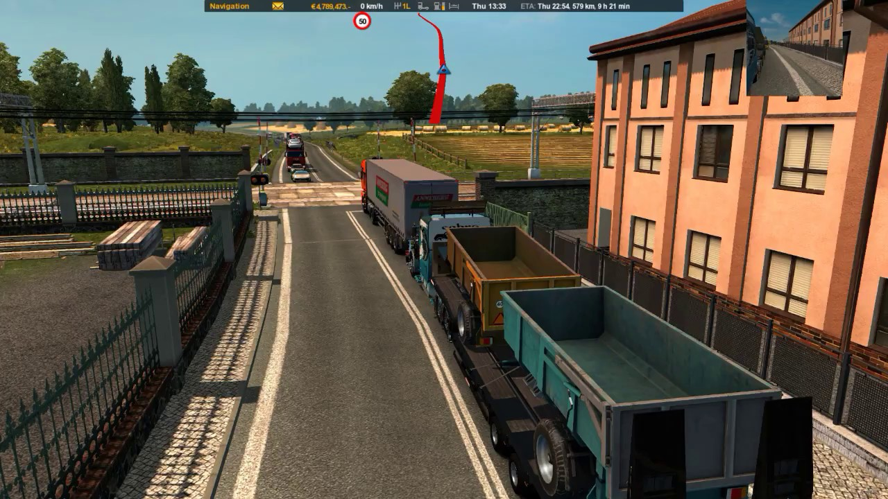 Real Traffic Density 2 2 ETS2 by Cip