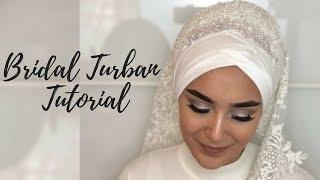 Bridal Turban Tutorial I Gelinbasi I Hochzeitsfrisur