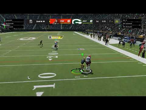 Madden NFL 22 Mudmasters first game of mut ever |