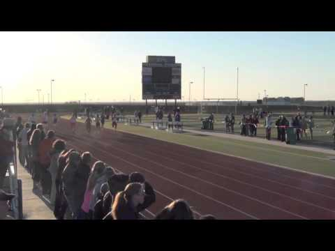 Lucas Stradford sets new 8th grade boys 100m FISD district track meet record